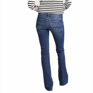 7 For All Mankind Original Bootcut Mid Rise Jeans